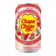 Chupa Chups Strawberry Soda 345ml plech