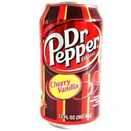 Dr. Pepper cherry vanilla USA 0,355L