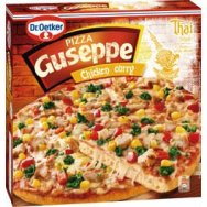 Dr. Oetker Guseppe Pizza Chicken Curry 375 g