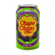 Chupa Chups Sparkling Grape Soda 345ml plech