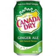 CANADA DRY Ginger ale 355ml plech
