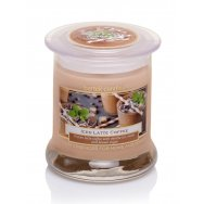 BARTEK CANDLES svíčka ve skle Wellness & Beauty - Iced latte coffee 260g