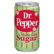 Dr .Pepper made with Sugar 355ml (USA)