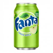 Fanta green apple 0,335L USA