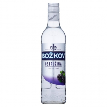 Božkov Ostružina vodka 33% 500ml