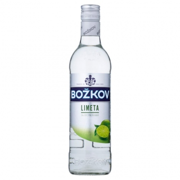 Božkov Limeta vodka 33% 500ml