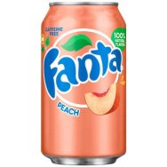 Fanta Peach 355ml ( USA )