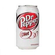 Dr. Pepper diet 355ml ( USA )