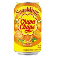Chupa Chups Orange Soda 345ml plech