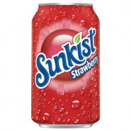 Sunkist strawberry 355ml